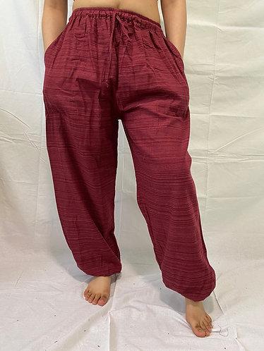 Cotton Unisex Yoga Pants