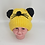 Thumbnail: Handmade Unisex Fleece Lined Baby Hats with Two Pompom,Cute Pompom Kids Hat, Kid