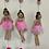 Thumbnail: Handmade Felt Ballerinas Mobile Two Colors Mobile Felt Hanging,Girl Gift, Felt B