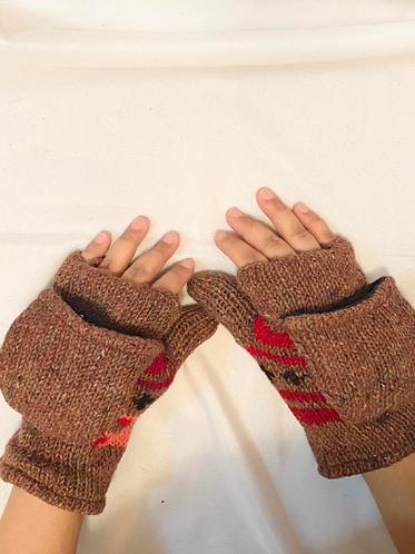 Pure Merino Wool GLoves/Handwoven Unisex Winter Accessories