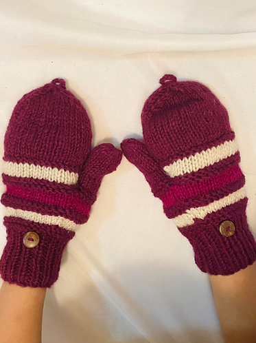 Merino Wool Gloves/Solid Color Gloves/Mittens