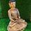 Thumbnail: Handmade 24k Gold Plated Meditation Buddha from Nepal, Tibetan Amitayus Amitabha