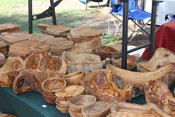 handmade wooden bowl artist
