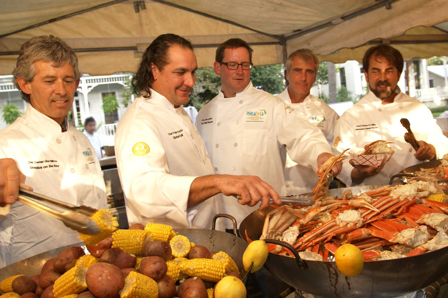 chefs at seafood