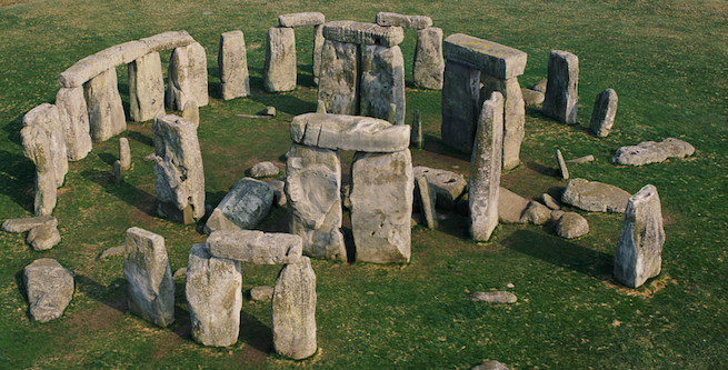 Stonehenge - Grande Circulo de pedras próximo a cidade de Londres