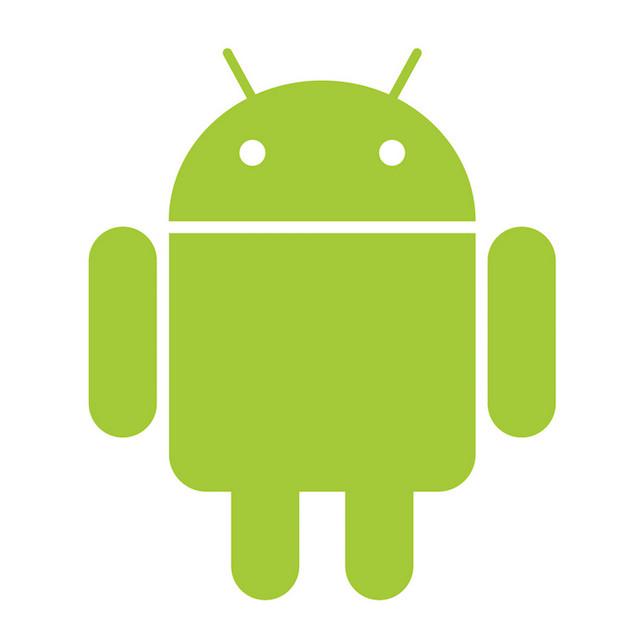 Robô verde - Logo do Android