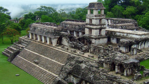 Antigo templo Maia