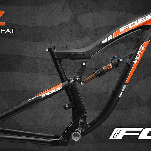 Foes Racing USA Mutz Fullsuspension Fatbike Rahmen 2021