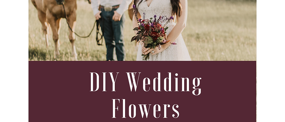 DIY Wedding Flowers 101