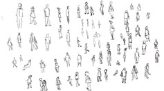people doodles page