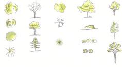 trees render
