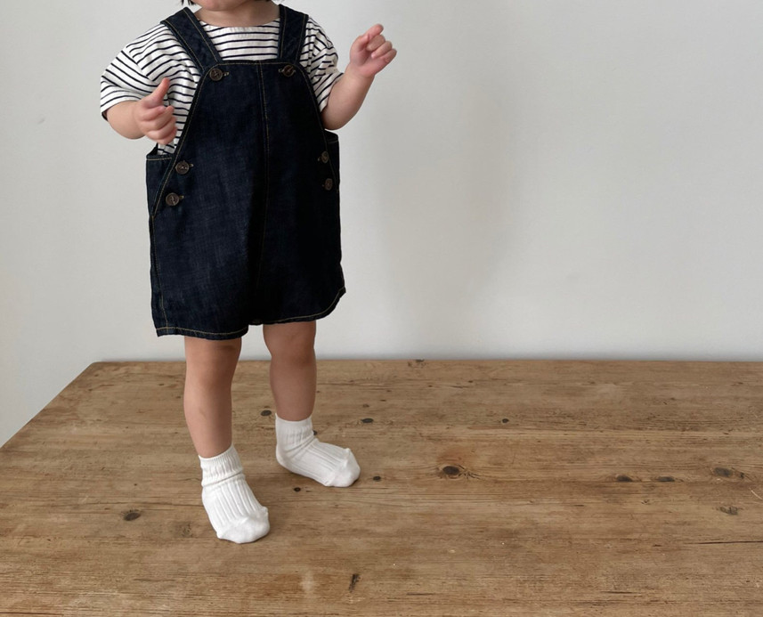 Denim Dungarees Overall