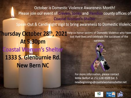 2021 Tri-County Domestic Violence Awareness Vigil