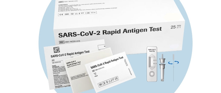 Box of 25 Rapid Antigen Lateral Flow Tests (SARS-CoV-2)