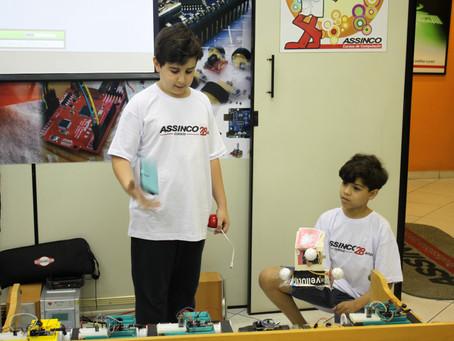 Vejam as fotos dos melhores momentos do 2º Torneio de Robótica ASSINCO