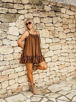 Brown dress Short