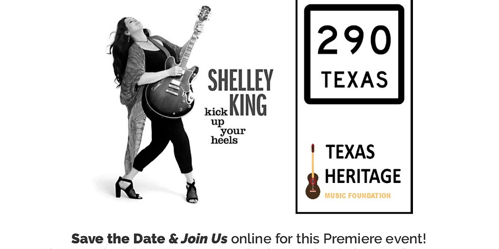 Shelley King ONLINE   May 23, 2020 @ 7pm