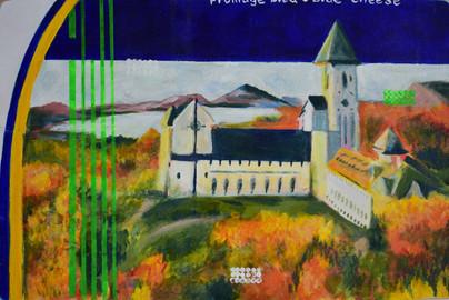 Saint Benoit du Lac, fromage bleu