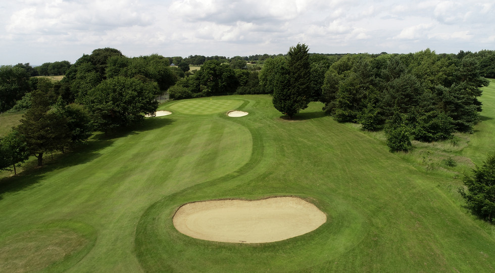 Aerial photography of Golf Course