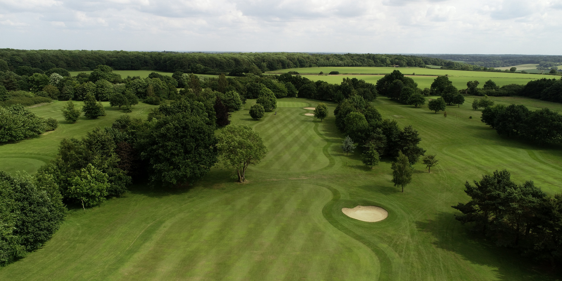 Drone Aerial photo of golf course 3