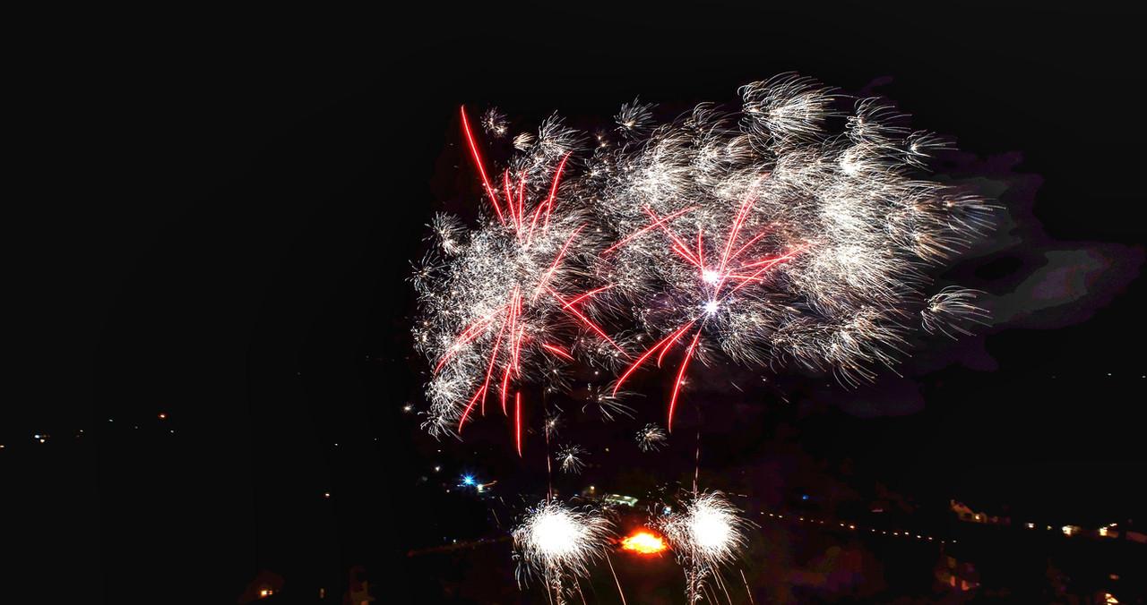 Bonfire night Firework show