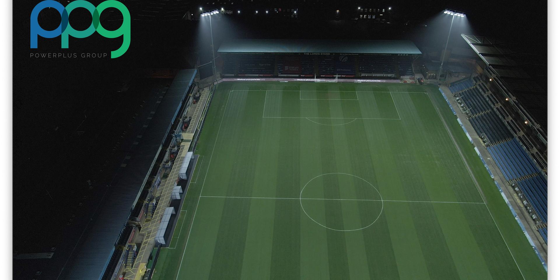 WWFC Wycombe Wanderers Football Club Lighting