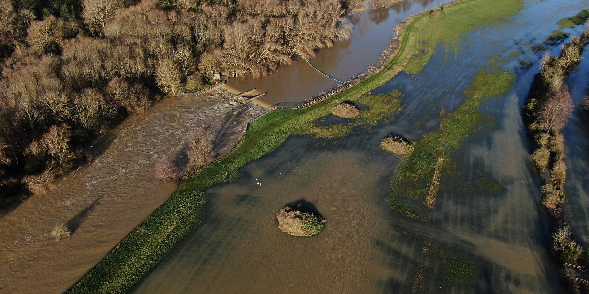 Bromham Village Floods 2020
