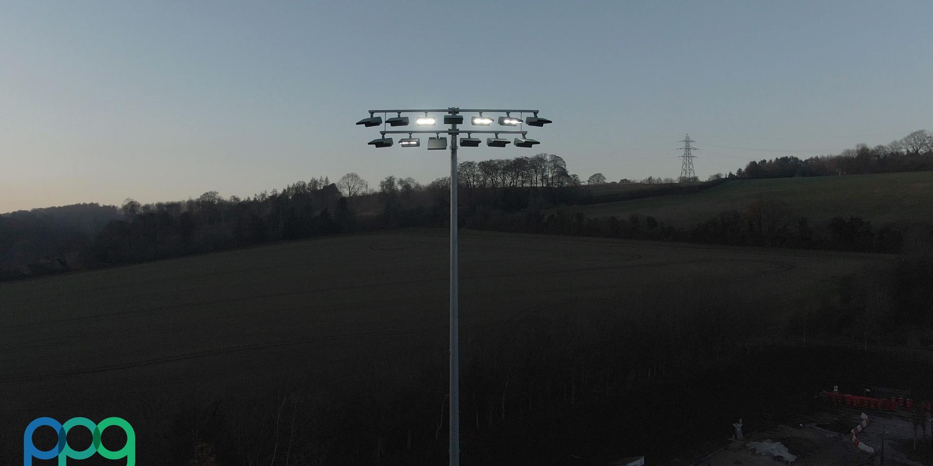 Powerplus Group Lighting Installation