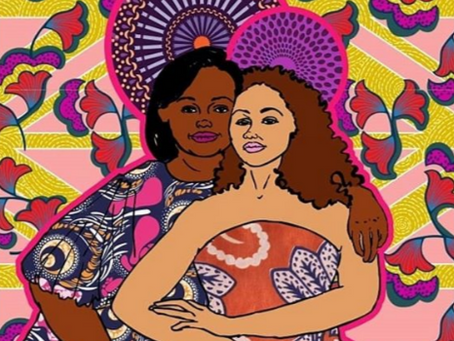 Gal-Dem: Meet the artists creating portraits of Britain's black icons