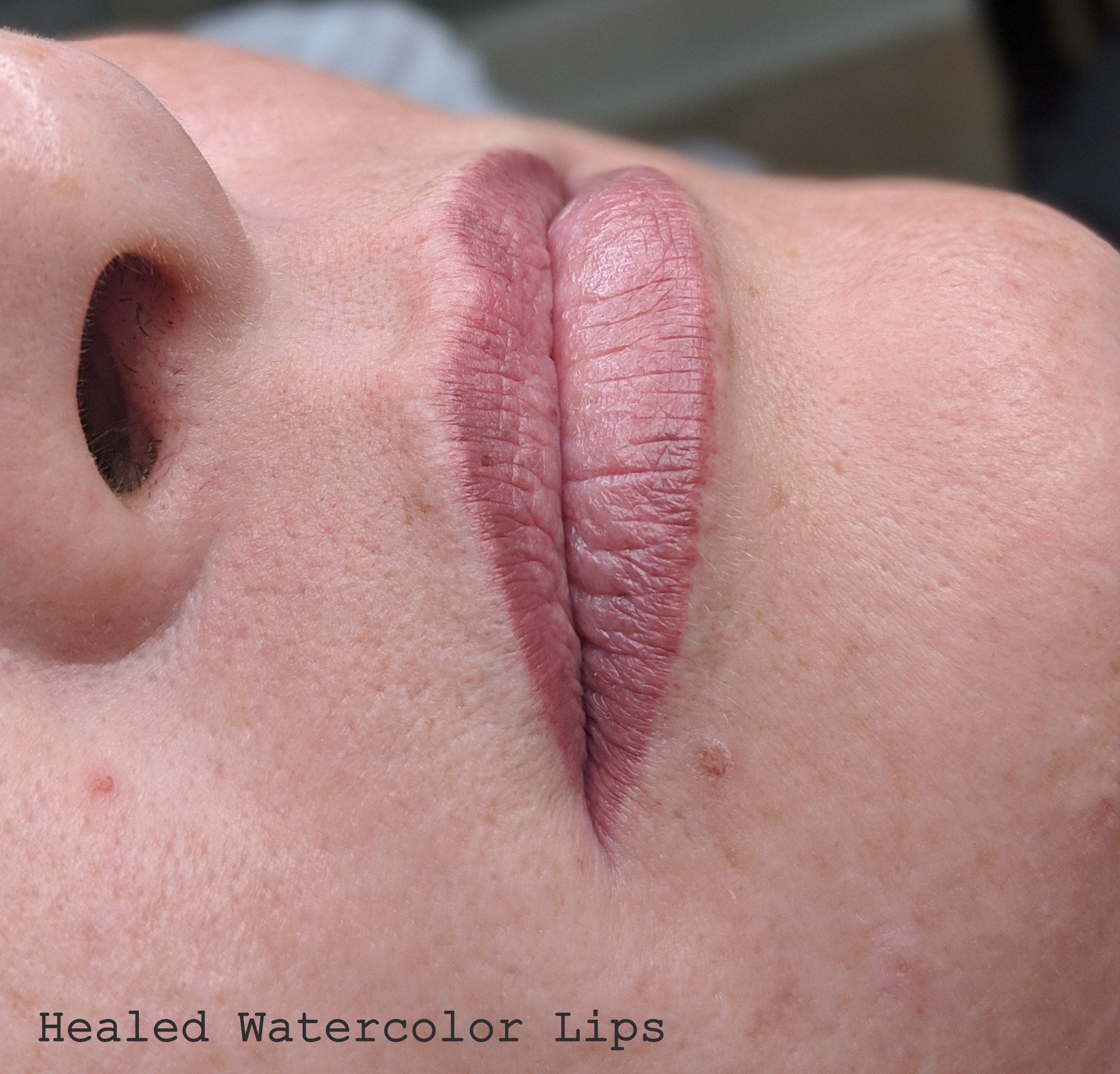Healed Aquarelle Watercolor Lips