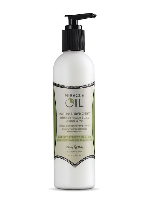 Miracle Oil Tea Tree Shave Cream