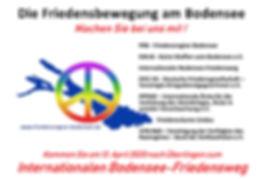 Anzeige 4 Die Friedensbewegung am Bodens
