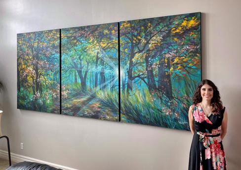 "Luminous Way"" - Commissioned Art Work"