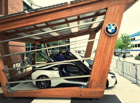 SoLiS + ReNuTeq -  Solar Charging Structure BMW's i360 Program Internationally