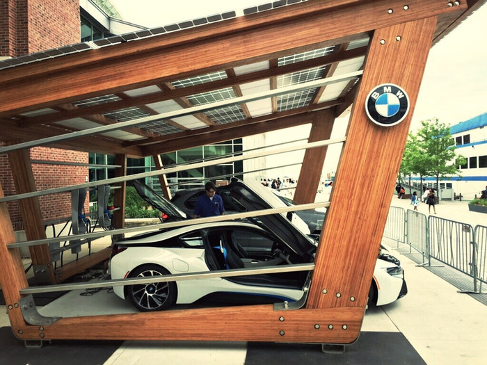 ReNüTeq + SoLiS - Solar Charging Structure BMW's i360 Program Internationally
