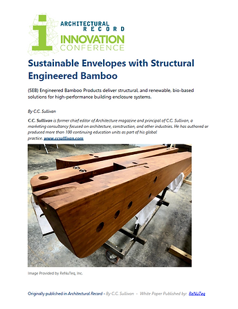 White Paper - Structural Engineered Bamb