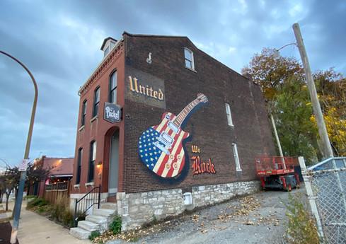 """United We Rock"" Mural"