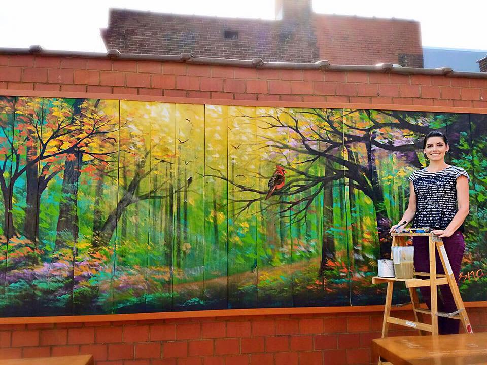 Friday South Bar & Grill - Vesna Mural