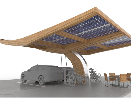 """Introducing the """"SoLiS WEi"""" - Off-Grid Solar Powered Charging Structure"""