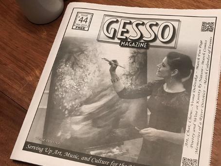 Vesna featured in Gesso Magazine!