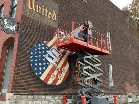 """""""United We Rock"""" Mural in St.Louis"""