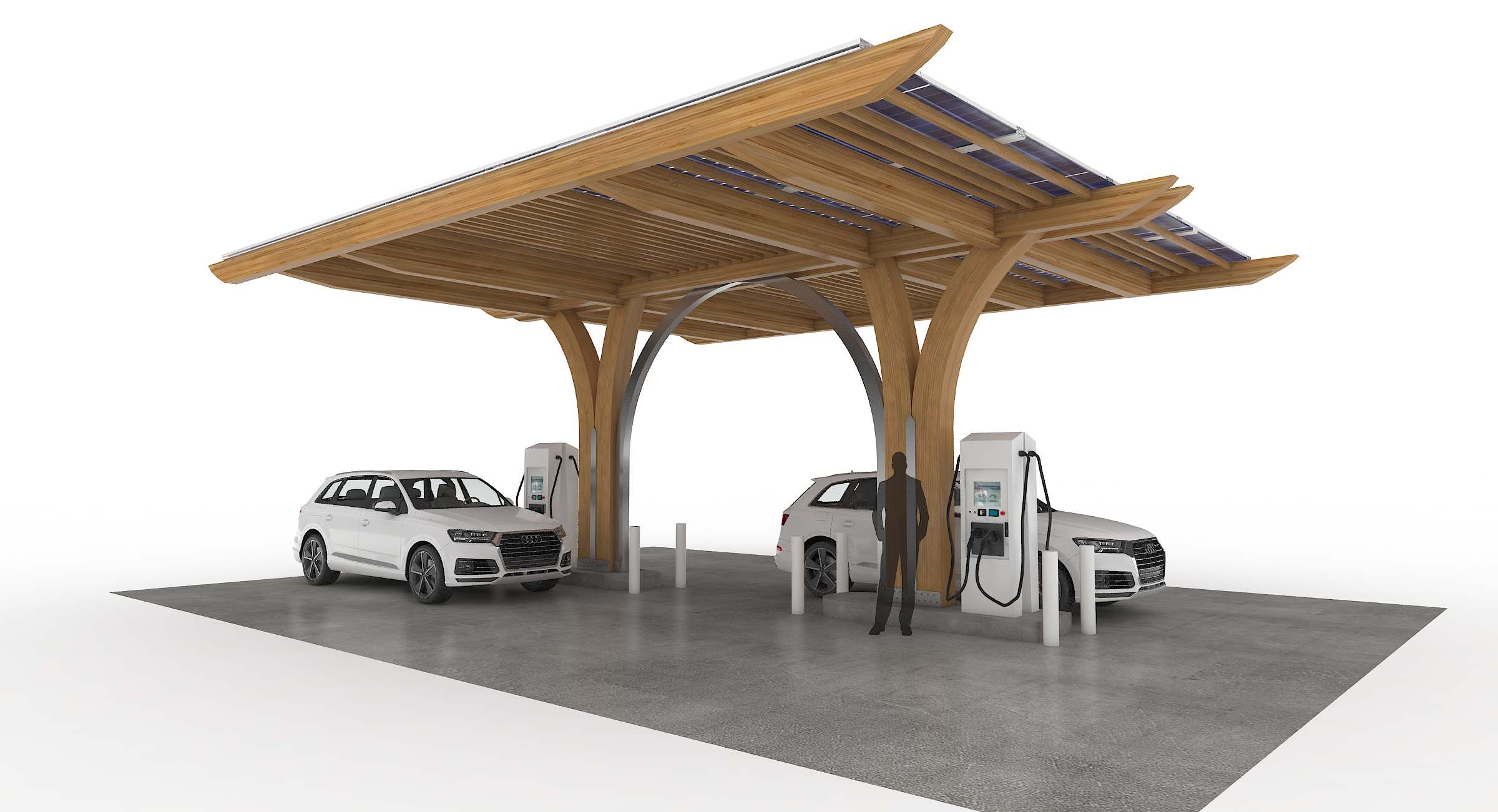 Four Car EV Charger - ReNuTeq