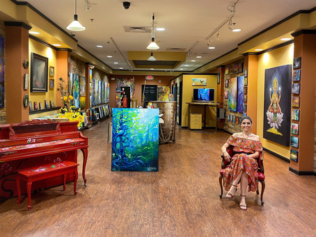 Vesna Art Gallery moves to a new Space!!