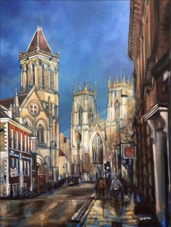 "York_Minster_-_24""x18""x1.5_Acrylic_on_Ca"