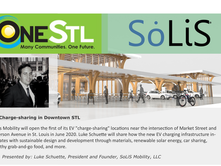 SoLiS Mobility Featured for the ONE STL Sustainability Lab!!