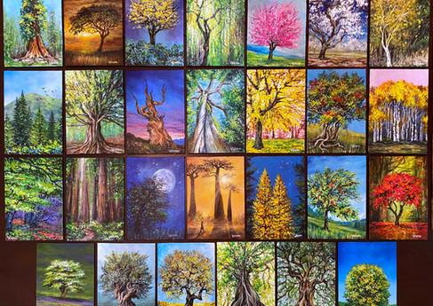 VESNA 27 TREES FROM THE WORLD