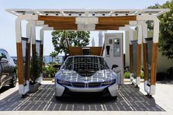 BMW-i8-Carport- ReNuTeq Solis
