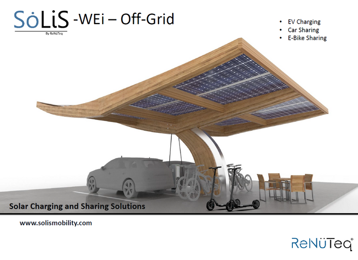 """The """"SoLiS WEi"""" - Off-Grid SEB (Structural Engineered Bamboo) Solar Powered Structure"""