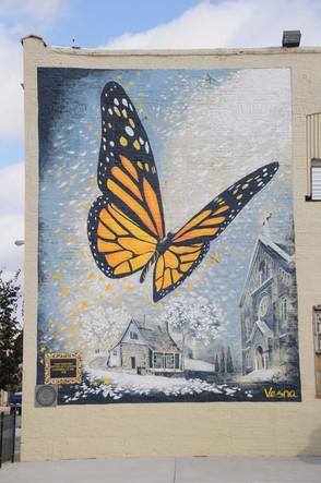 The Monarch - Vesna Mural