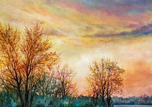 """Sunny View"" - 48""x36"""